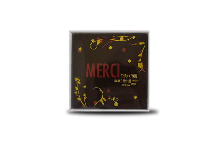 "Carte ""Merci\"""
