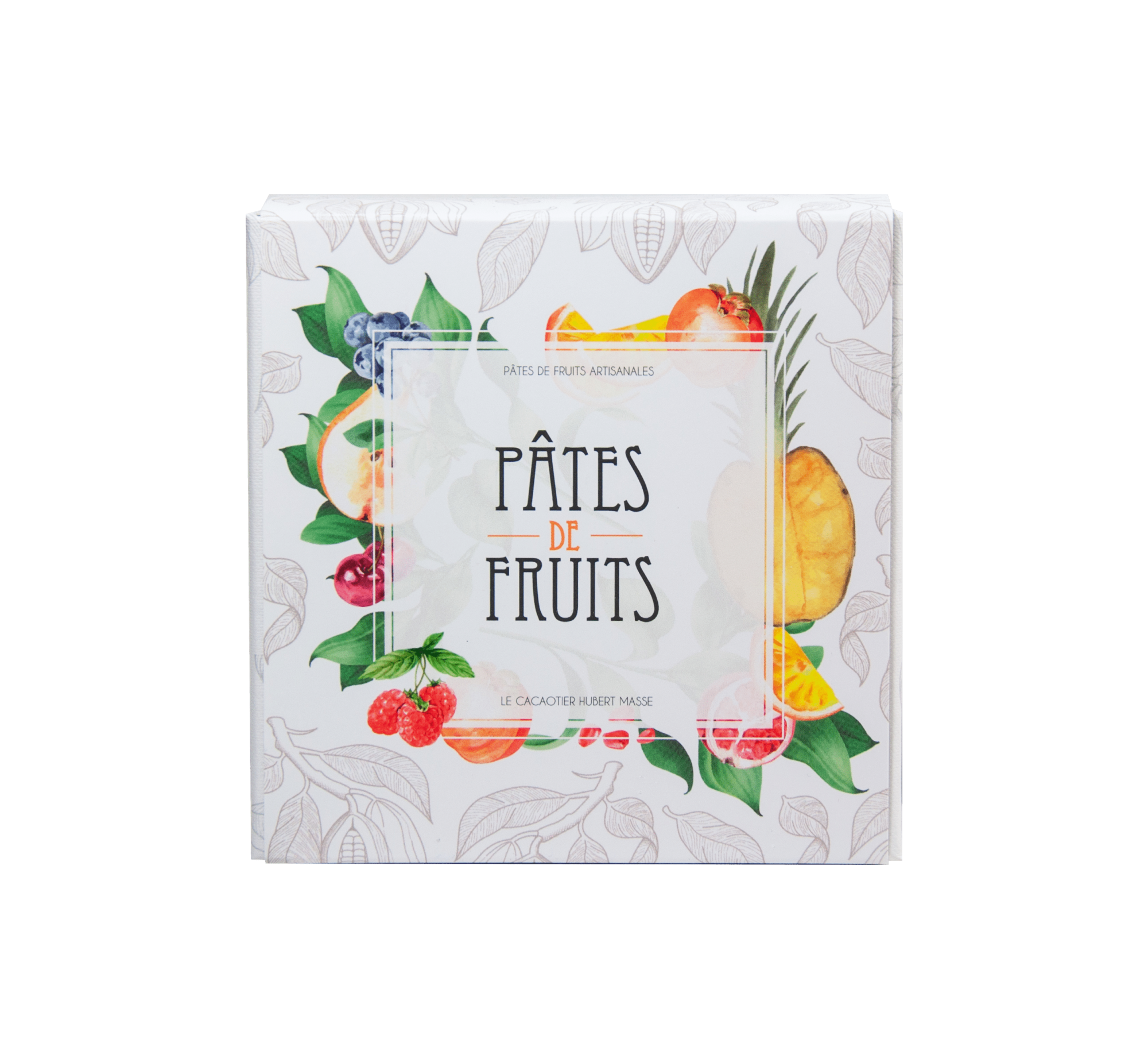 Coffret 50 Pâtes de Fruits