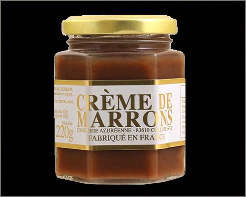 Crème de marrons 220g