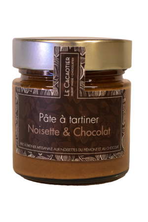 Pâte à tartiner artisanale noisette et chocolat