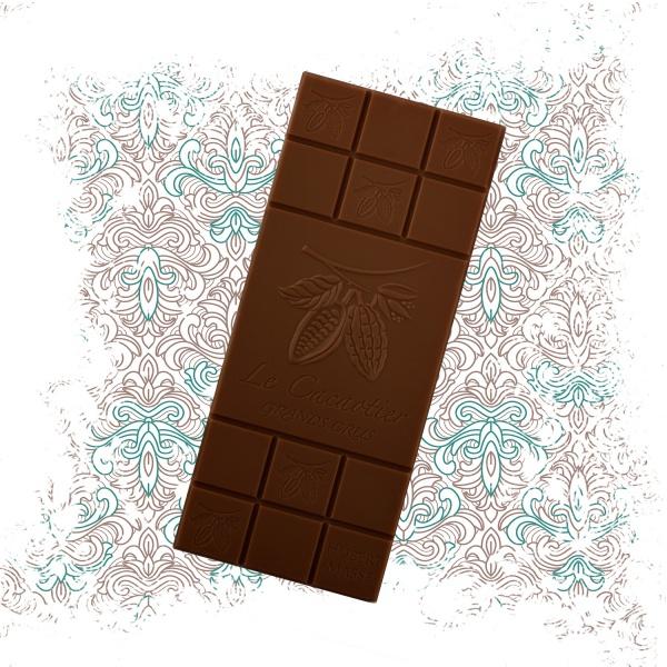 Tablette BTB 90g Cameroun cacaoté (noir 72%)