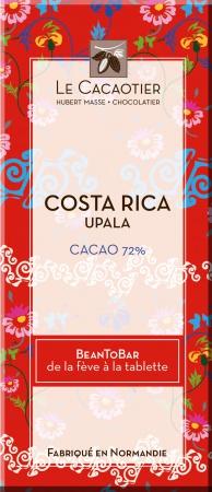 Tablette Costa Rica Upala (noir 72%) - BeanToBar