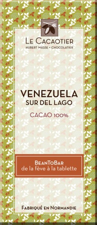 Tablette Venezuela pur (noir 100%) - BeanToBar